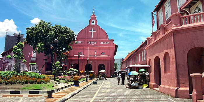 Malacca's Red Square