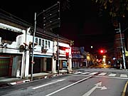 Satun night street view