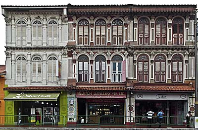 Old Colonial Shops in Singapore