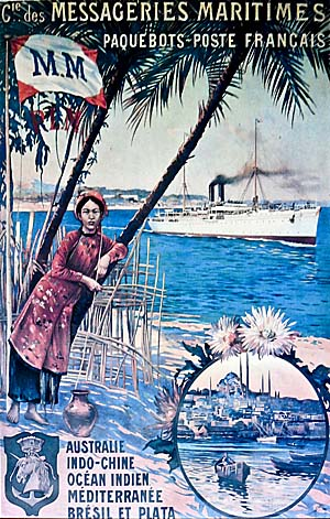 Asienreisender - French Colonial Poster