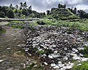 'Waste Disposal Site at Dieng Plateay' by Asienreisender