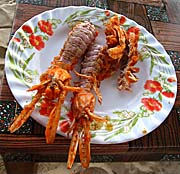 Lobster in Sihanoukville by Asienreisender