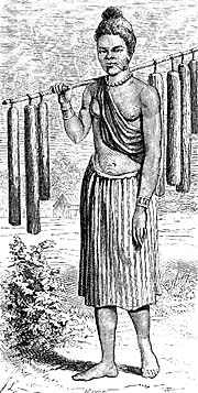 Sketch of a Laotian Woman