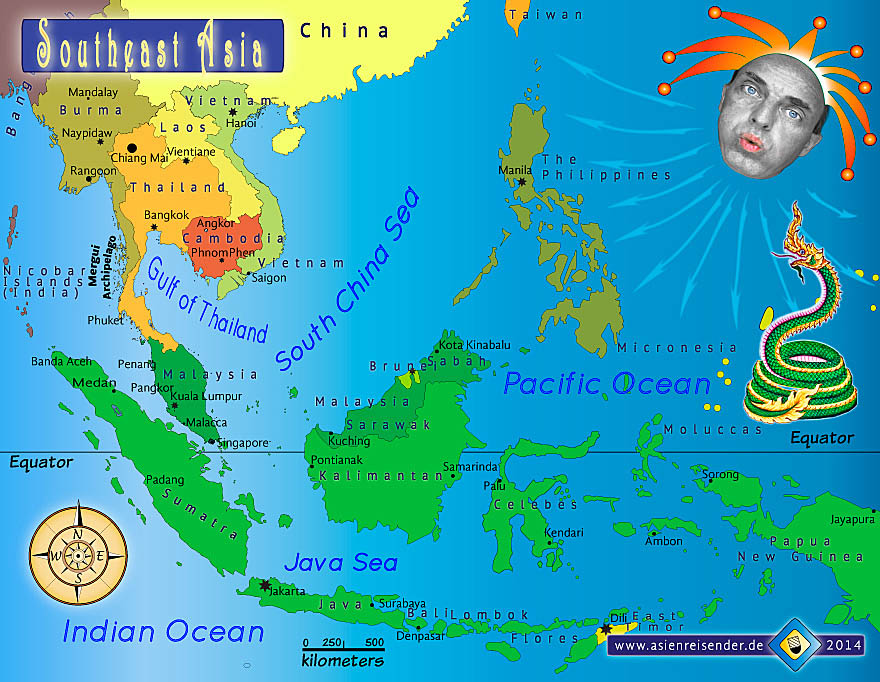 Maps Update 12061281 Map of South East Asia Map of Southeast – Political Map of East and Southeast Asia