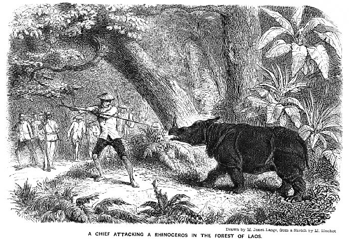 Rhinoceros Hunt in Laos