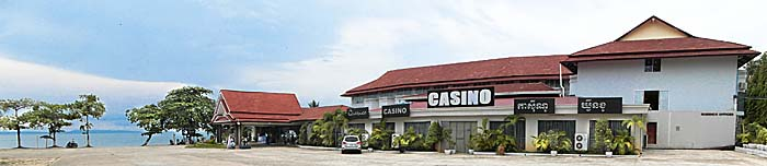 A Casino in Sihanoukville by Asienreisender