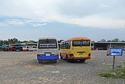 Sihanoukville Bus Station by Asienreisender