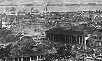 Singapore in the 1850s