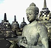 'Open Buddha Stupa at Borobodur' by Asienreisender