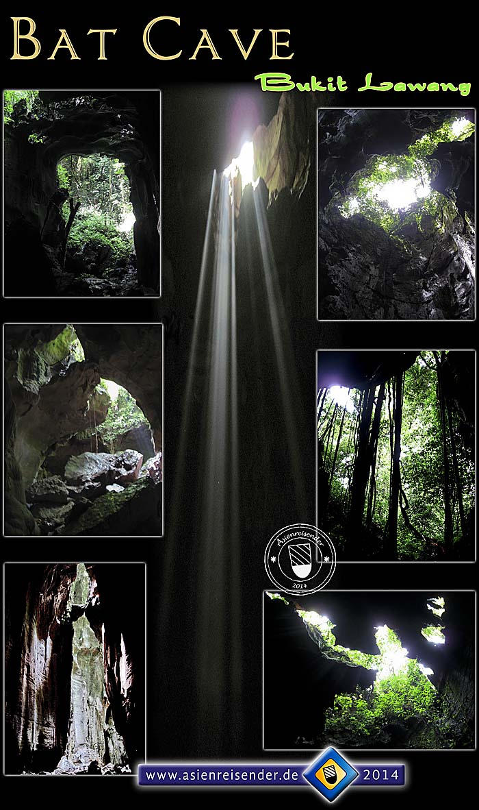 'Bat Cave Bukit Lawang - Photocomposition' by Asienreisender