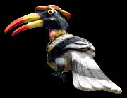 'A Model of a Great Hornbill in Khao Sok National Park' by Asienreisender