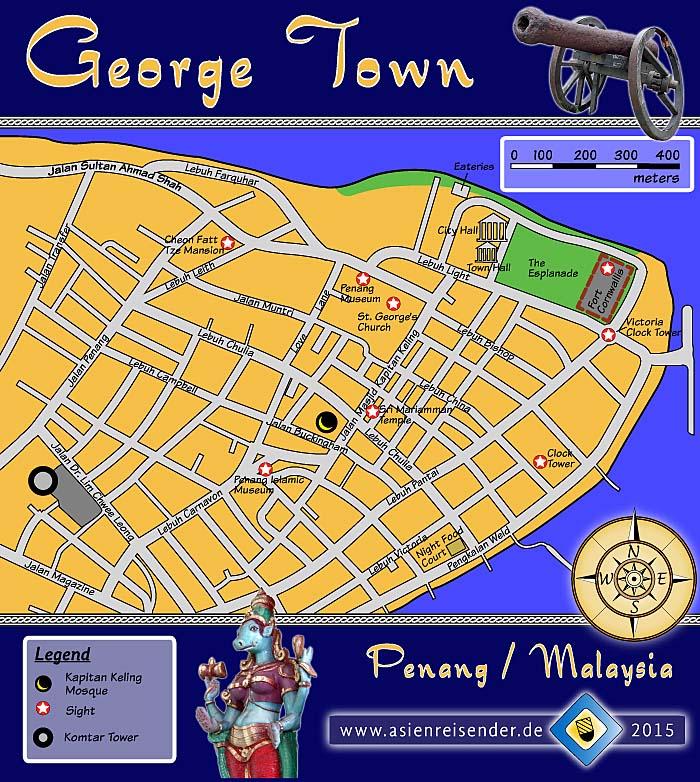 Penang George Town Asienreisender