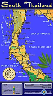 'Thumbnail Map of South Thailand' by Asienreisender