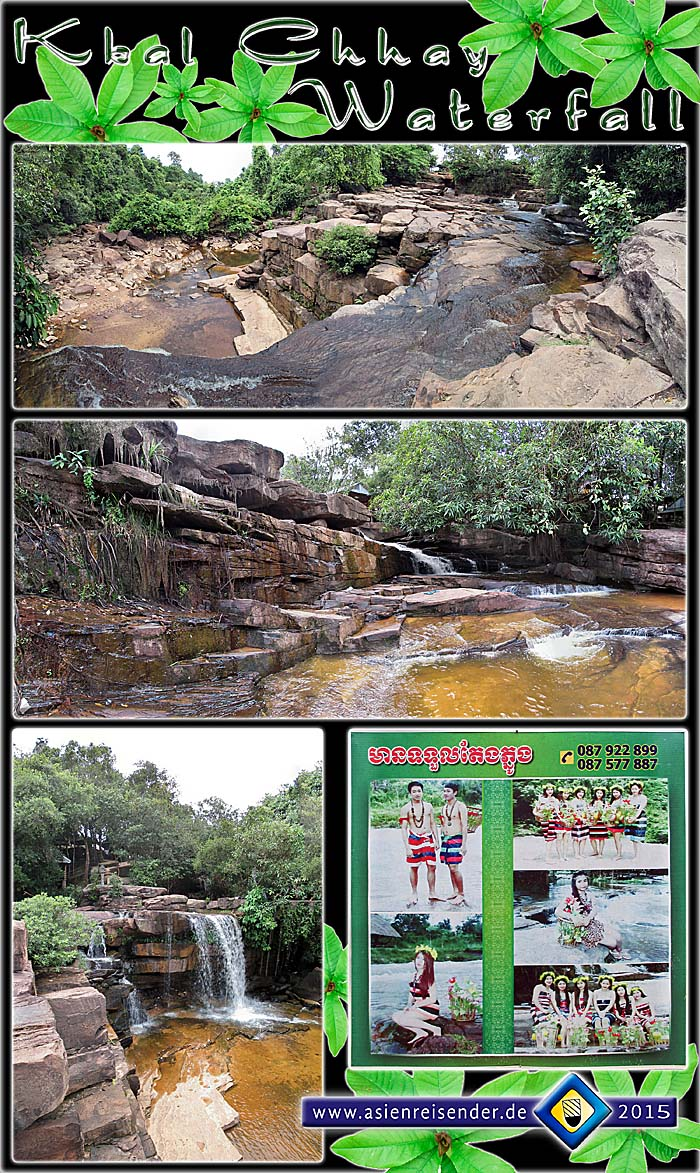 'Kbal Chhay Waterfall in Sihanoukville' by Asienreisender