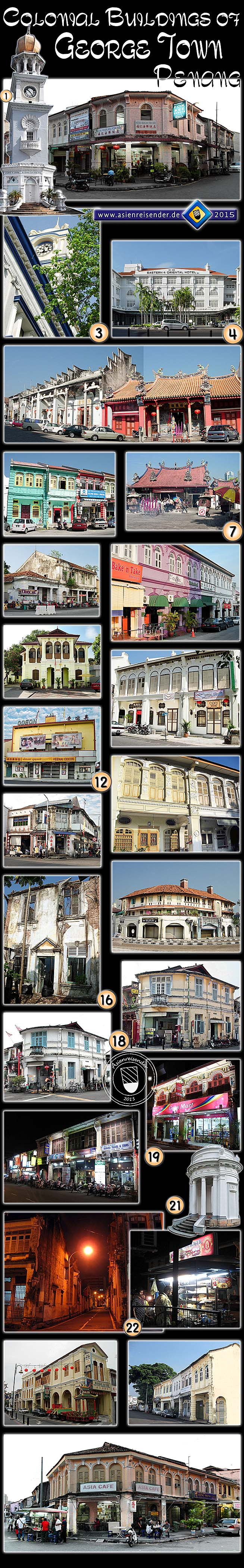 'Photocomposition - The Colonial Buildings of George Town -' by Asienreisender