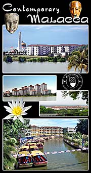 Thumbnail 'Photocomposition Contemporary Buildings in Malacca' by Asienreisender