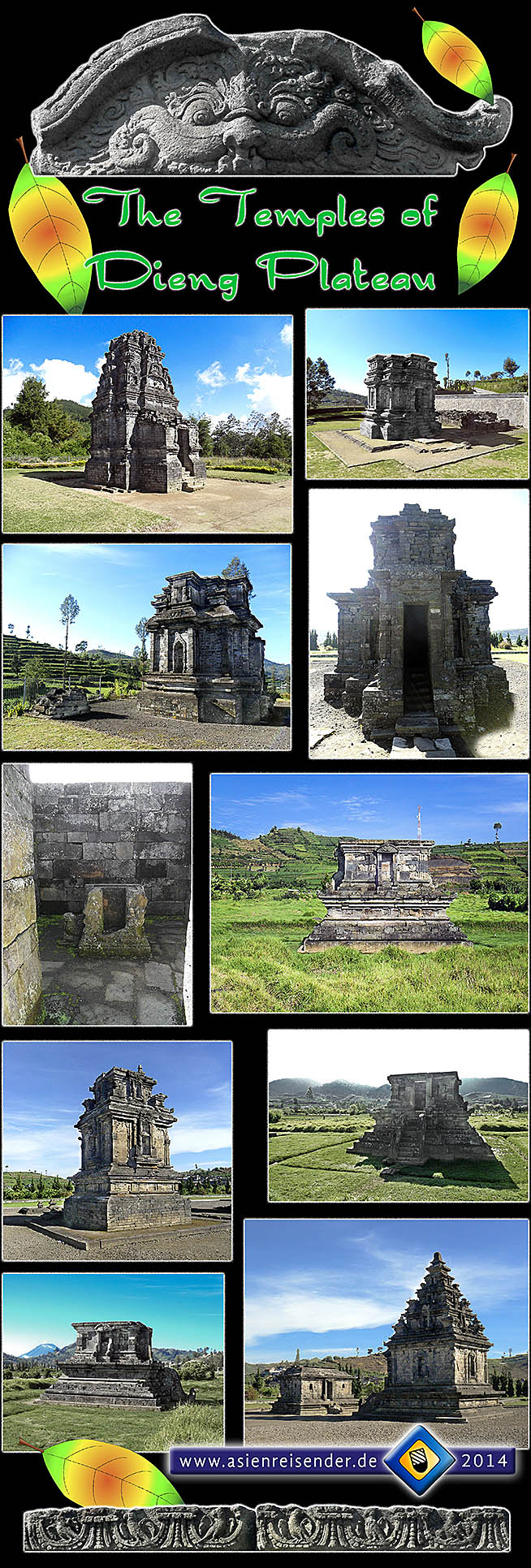 'The Monuments of Dieng Plateau' by Asienreisender