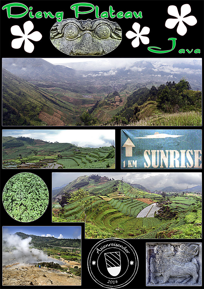 'Photo Composition of the Dieng Plateau' by Asienreisender