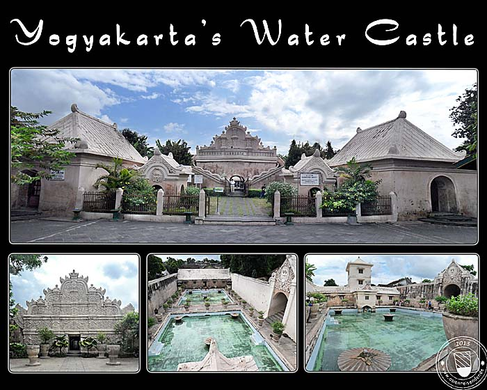 'Photocollage Yogyakarta's Water Palace | Water Castle' by Asienreisender