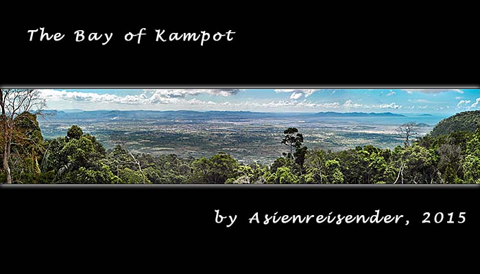 'Airview over the Bay of Kampot' by Asienreisender