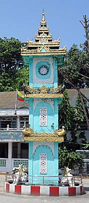 'The Clocktower of Kawthaung' by Asienreisender