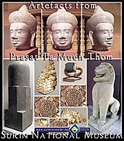 Thumbnail 'Artefacts from Prasat Ta Muen Thom' by Asienreisender