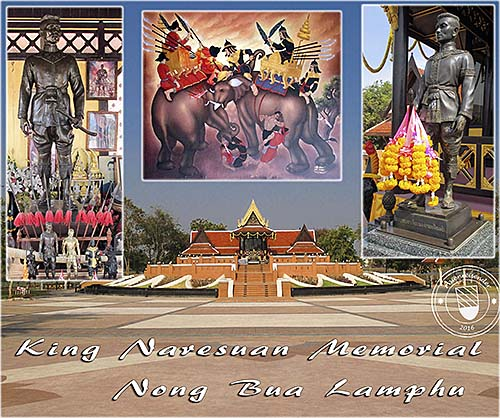 'King Naresuan Memorial' by Asienreisender