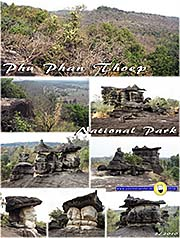 Thumbnail 'Phu Phan Thoep National Park at Mukdahan' by Asienreisender