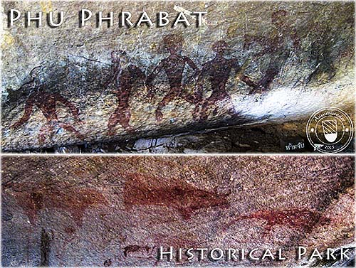'Pre-Historic Cave Paintings in Phu Phrabat Historical Park' by Asienreisender