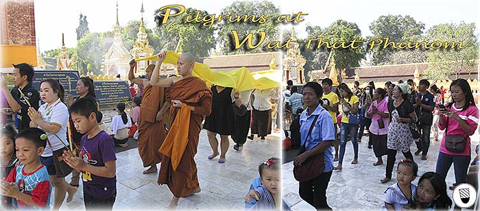 'Pilgrims at Wat That Phanom' by Asienreisender