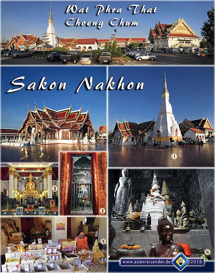 Sakon Nakhon Isan Thailand Asienreisender