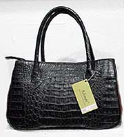 'Crocodile Leather Handbag' by Asienreisender