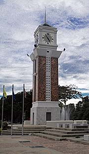 'Nakhon Ratchasima's Clock Tower' by Asienreisender