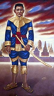 'King Naresuan Painting' by Asienreisendre