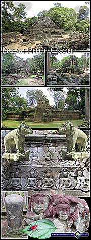 Thumbnail Photocomposition 'Preah Pithu Group' by Asienreisender
