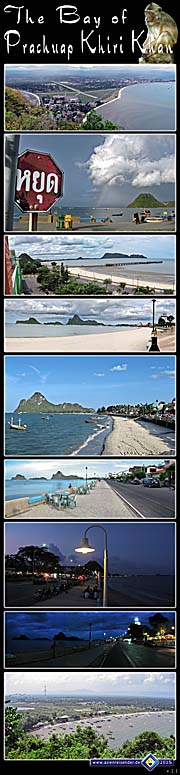 Thumbnail 'Photocomposition The Bay of Prachuap Khiri Khan' by Asienreisender
