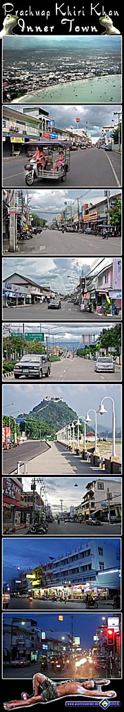 Photocomposition 'Prachuap Khiri Khan Inner Town' by Asienreisender