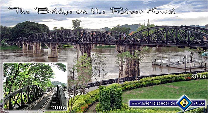 'The Bridge over the River Kwai' by Asienreisender