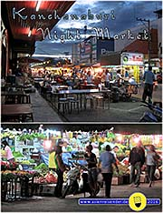 'The Night Market of Kanchanaburi' by Asienreisender
