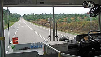 'On the Bus from Johor Bahru to Mersing' by Asienreisender