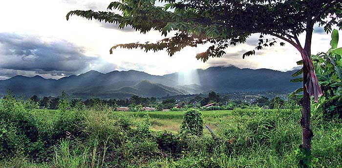 'The Mountains around Pai Valley' by Asienreisender