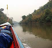 'On the Kok River Boat from Tha Ton to Chiang Rai' by Asienreisender