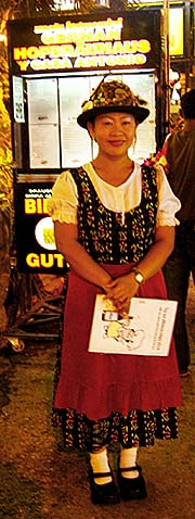 'A Thai Waitress in the German Hofbraeuhaus in Chiang Mai' by Asienreisender