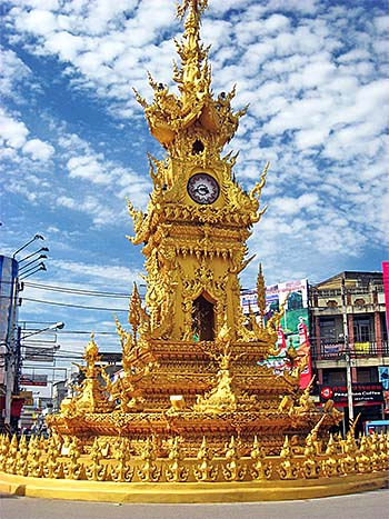 'The Clock Tower of Chiang Rai' by Asienreisender