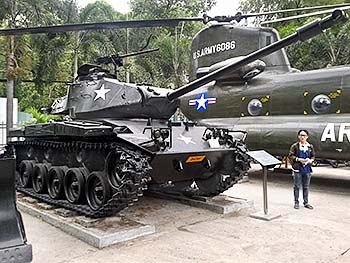 'American Tank in the Garden of the War Remnants Museum' by Asienreisender