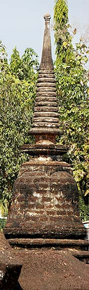'Top of a Chedi at Wat Mahathat | Si Satchanalai Historical Park' by Asienreisender